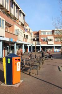 Winkelcentrum plein